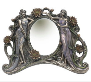 TABLE MIRROR - TWIN LADIES