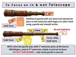 HOW TO FOCUS A TELESCOPE