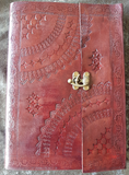 Large - Leather Cover Journals – LD-016 TOP CLIP