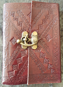 Small - Leather Cover Journals – LD-016 TOP CLIP