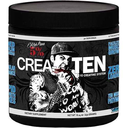 5% Nutrition CREA-TEN Creatine Createn- 30 Serv