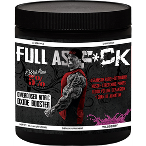 5% Rich Piana FULL AS F**K Nitric Oxide Booster