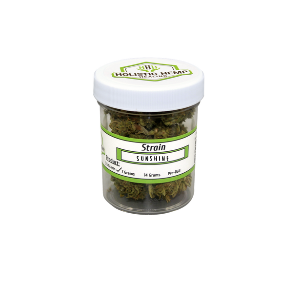 Holistic Hemp CBD FLOWER. 3.5g | HOLISTIC HEMP HEALING | Any Body Supplements