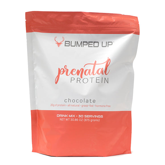 Bumped Up Prenatal Protein