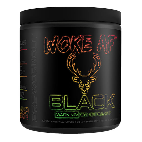 WOKE AF BLACK Pre Workout