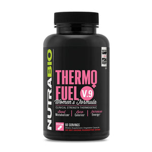 NutraBio ThermoFuel V9 for Women - 120 Vegetable Capsules