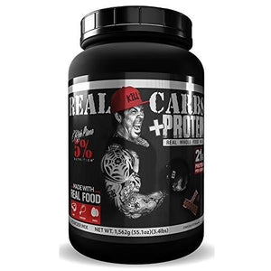 Rich Piana 5% Nutrition REAL CARBS + PROTEIN