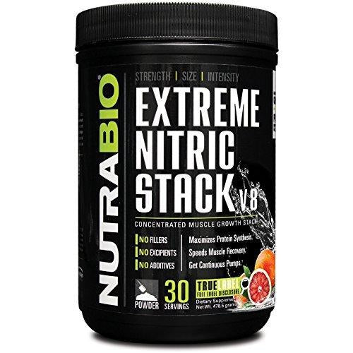NutraBio Extreme Nitric Stack