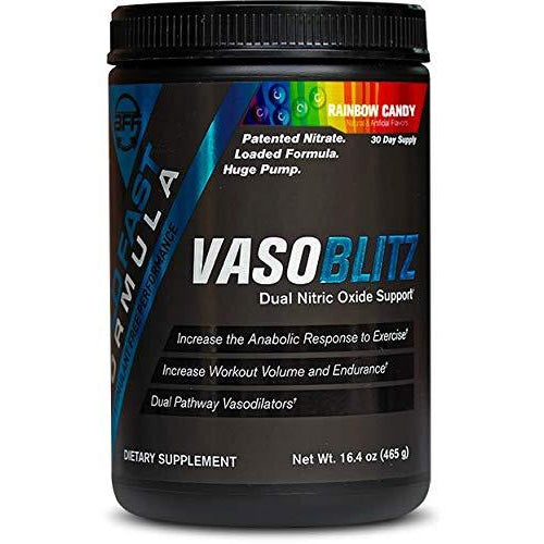 VASOBLITZ Nitric Oxide Pre Workout Supplement