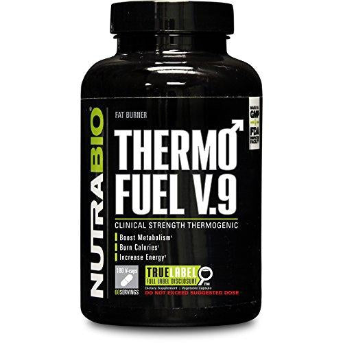 ThermoFuel V9 for Men 18 Capsules | NUTRABIO | Any Body Supplements