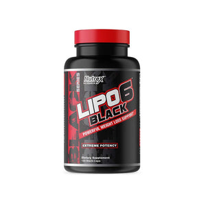 Nutrex Research Lipo-6 Black Extreme Potency | NUTREX RESEARCH | Any Body Supplements