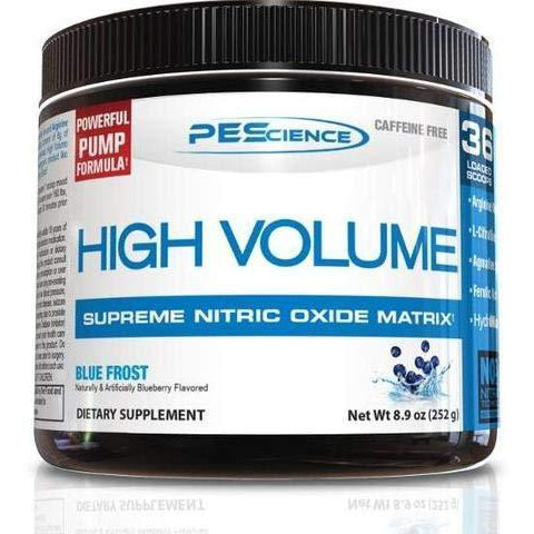PEScience HIGH VOLUME Nitric Oxide