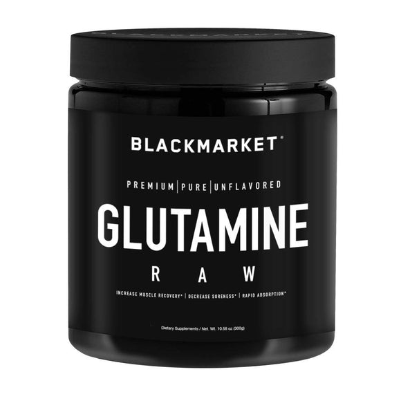 BlackMarket - Raw Glutamine, 300 Grams