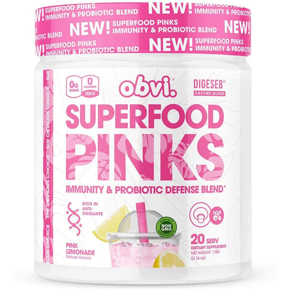 Obvi Superfood Pinks Immunity & Probiotic Defense
