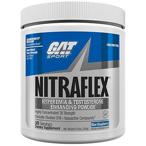 GAT Sports NITRAFLEX Pre Workout | GAT SPORTS | Any Body Supplements