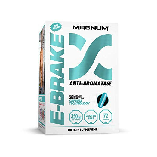 Magnum Nutraceuticals E-Brake Estrogen Blocker & Libido Enhancer