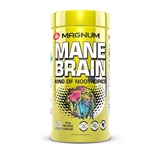 Magnum Mane Brain - - Nootropic Supplement
