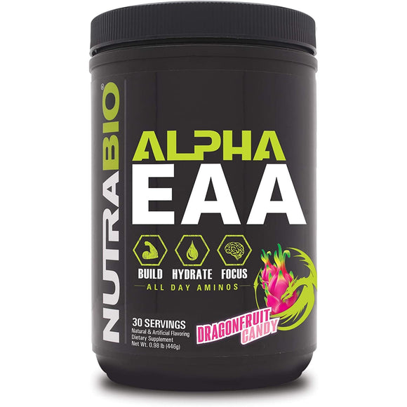 NutraBio Alpha EAA - All-Day Aminos