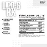 Nutrex Research Lipo-6 RX