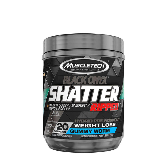 MuscleTech Shatter Ripped Black Onyx | MUSCLETECH | Any Body Supplements