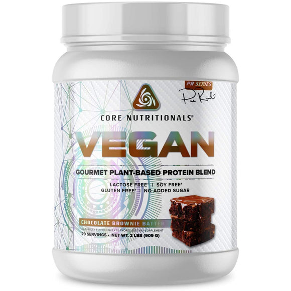 Core Nutritionals Vegan Plant-Based Protein | CORE NUTRITIONALS | Any Body Supplements