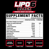 Nutrex Research Lipo-6 Black Extreme Potency