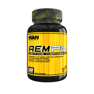 MAN Sports REM PM Sleep Aid, Night Time Thermogenic