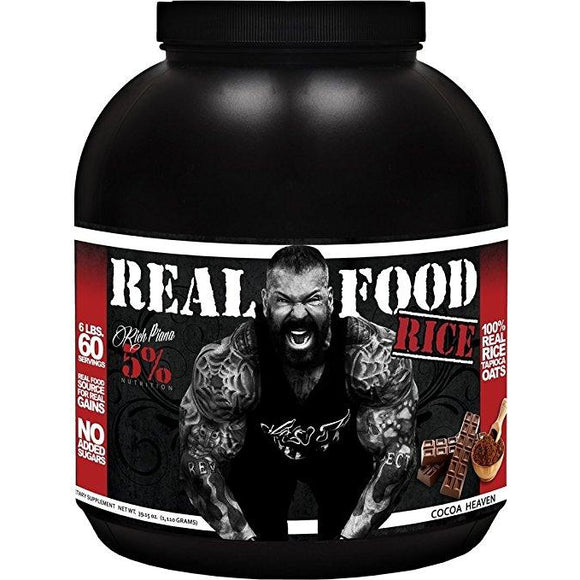 Rich Piana 5% Nutrition Real Food RICE (Cocoa Heaven), 60 SERV