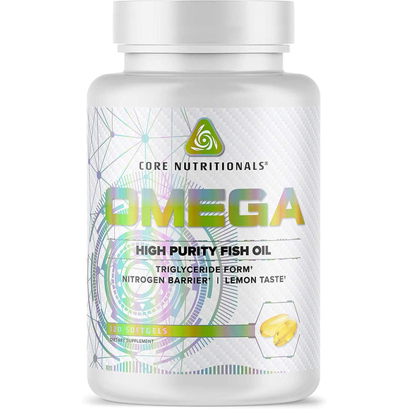 Core Nutritionals OMEGA | High Purity Fish Oil | CORE NUTRITIONALS | Any Body Supplements