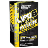 Nutrex Research Lipo-6 Black Intense Ultra Concentrate FAT BURNER, 60 Count