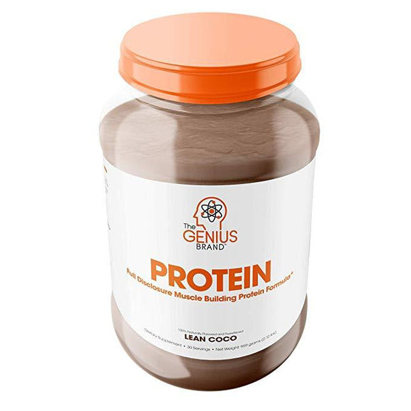 Genius Protein Powder - Natural Whey Protein | THE GENIUS BRAND | Any Body Supplements