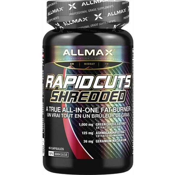 Allmax Nutrition Rapidcuts | ALLMAX | Any Body Supplements