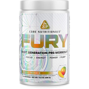 Core Nutritionals Fury Platinum Next Gen Pre Workout