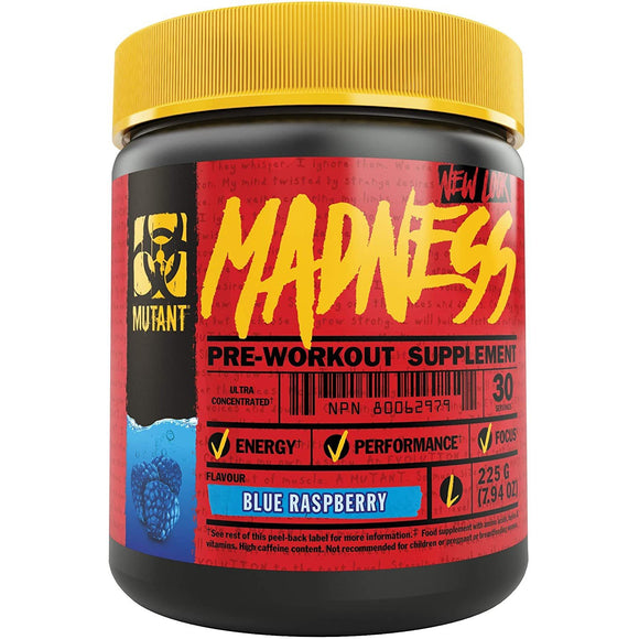 Mutant Madness PRE-WORKOUT | MUTANT | Any Body Supplements
