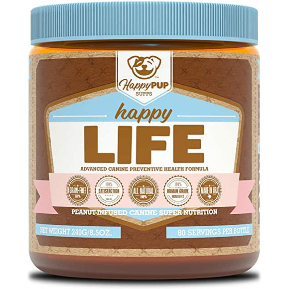 Happy Pup LIFE | happy pup | Any Body Supplements