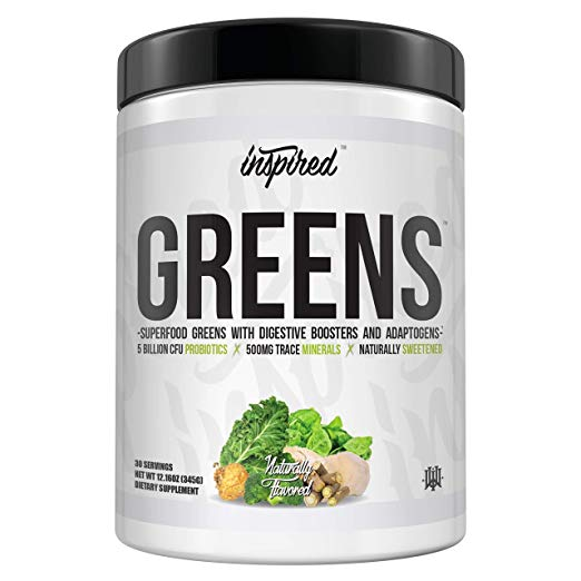 Inspired Nutraceuticals Greens+