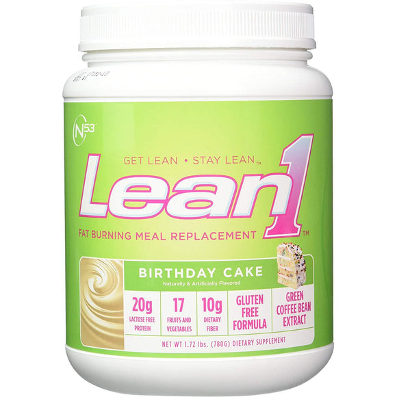 Nutrition 53 LEAN 1 | Fat Burning Meal Replacement