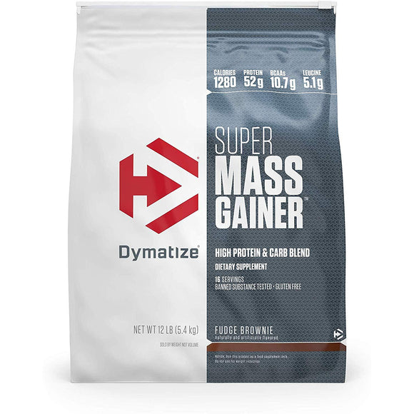 Dymatize Super Mass Gainer Protein, 12LB bag
