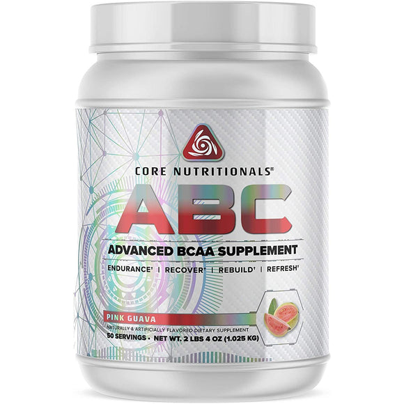 Core Nutritionals ABC BCAA Pre-Workout Supplement