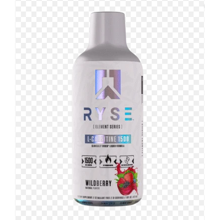 RYSE L-CARNITINE LIQUID | RYSE UP | Any Body Supplements