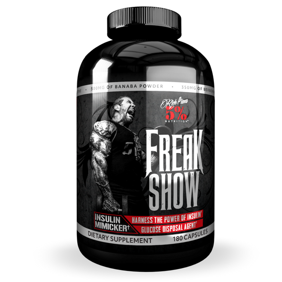 Rich Piana 5% FREAK SHOW Glucose Disposal Agent