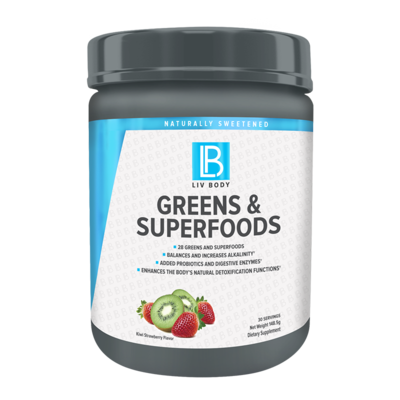 Liv Body GREENS & SUPERFOODS