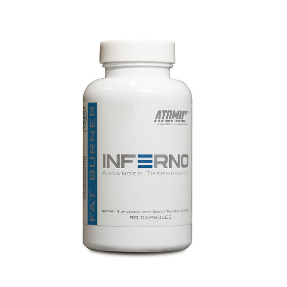 Atomic Strength INFERNO Thermogenic | ATOMIC STRENGTH NUTRITION | Any Body Supplements