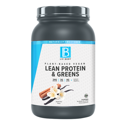 Liv Body LEAN PROTEIN + GREENS | LIV BODY | Any Body Supplements