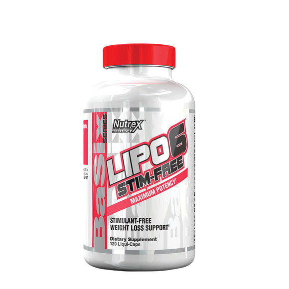 LIPO-6 STIM-FREE | NUTREX RESEARCH | Any Body Supplements