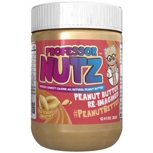 PROFESSOR NUTZ™ – LOW CALORIE NUT BUTTER