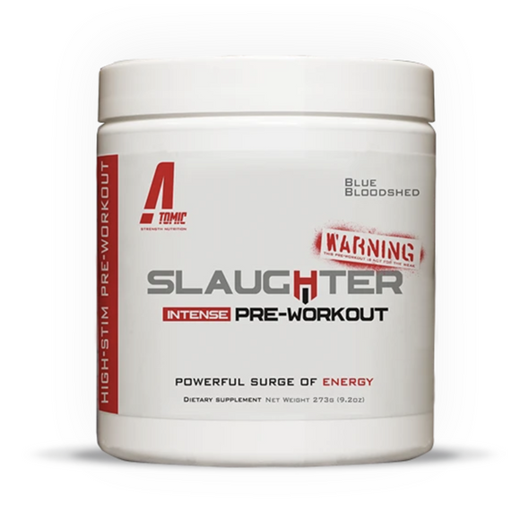 Atomic Strength SLAUGHTER HIGH-STIM PRE-WORKOUT