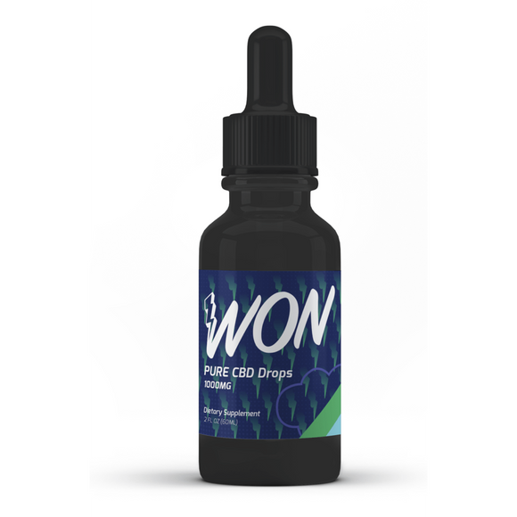 WON Pure CBD Drops | WON | Any Body Supplements
