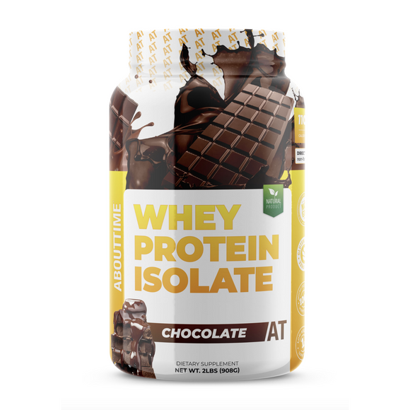 About Time Whey Isolate Protein Powder