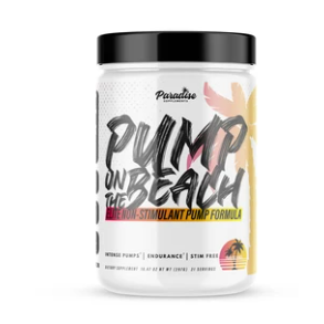 PUMP ON THE BEACH | STIM FREE NITRIC OXIDE BOOSTER